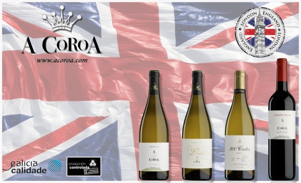 Presentation of A Coroa 2015 vintage in London