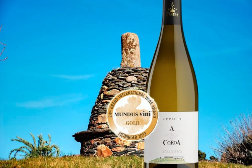 Gold Medal for 100% Godello A Coroa 2018 in Germany