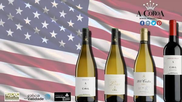 Bodega A Coroa promociona sus vinos en Nueva York