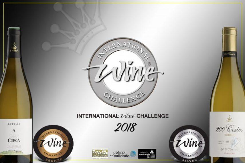 Dos nuevas medallas para los Godellos a Coroa en International Wine Challenge